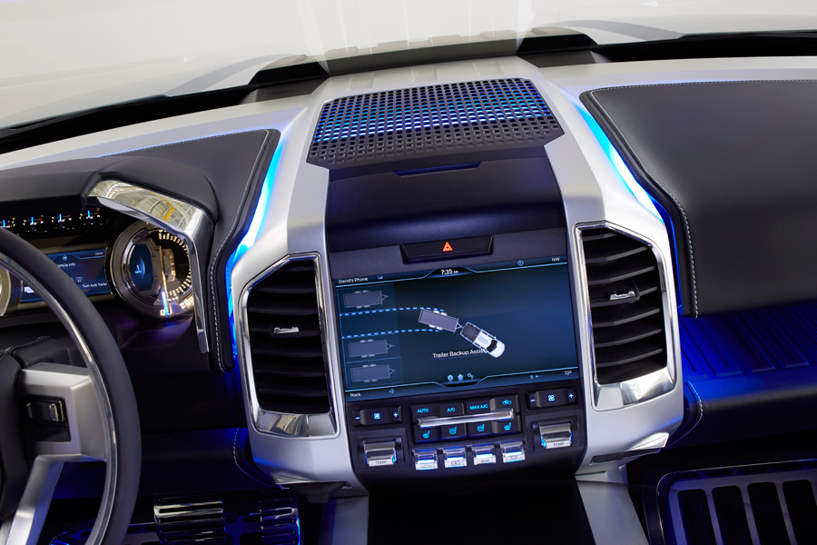 interior 2013 ford atlas concept 020 trailer backup assistant