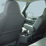 2003 Ford Excursion XLT front seats