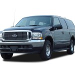 2003 Ford Excursion XLT front threequarter