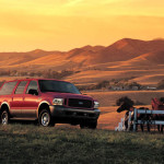 2003 Ford Excursion Eddie Bauer outdoors horses