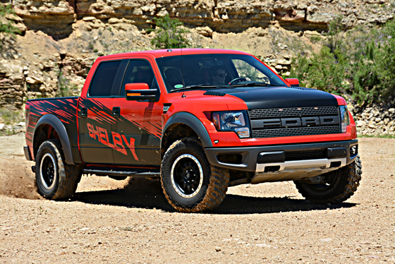 2013 Shelby Raptor Supercharged 62 Liter V8  Ford F150 Blog