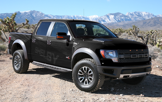 2013 shelby raptor grey and black