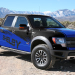 2013 Shelby Raptor Blue and Black