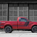 2014 F-150 Tremor Sport Truck Side Profile Red