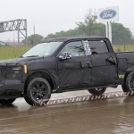 2015 Ford F-150 Crew Cab Spy Shot
