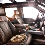 2015 Ford F-150 King Ranch Interior and Seats