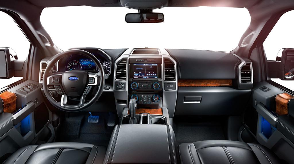 2015 Ford F 150 Platinum Interior