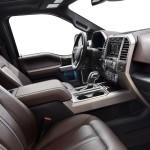 2015 Ford F-150 Platinum Seats