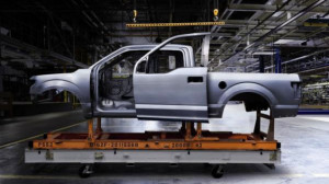2015 Ford F-150 aluminum body