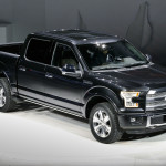 2015 Ford F-150 at Detroit Auto Show