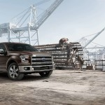 2015 Ford F-150 at Job Site