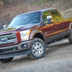 2015 Ford F-250 Super Duty Front 3-4 View