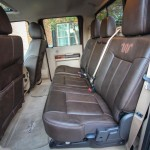 2015 Ford F-Series Super Duty Crew Cab King Ranch Edition Interior