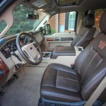 2015 King Ranch Super Duty Interior