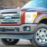 2015 Super Duty Chrome Grill