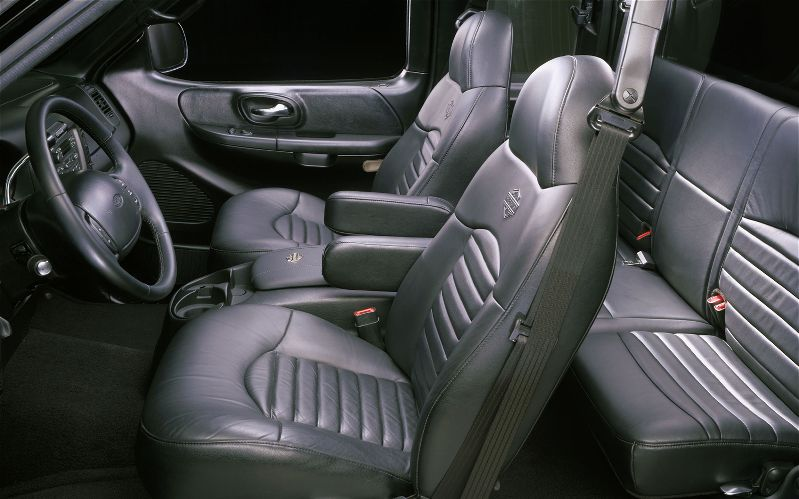 2000 Ford F 150 King Ranch Interior