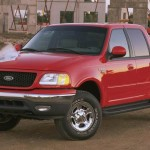 2001 Ford F-150 CrewCab at Construction Site
