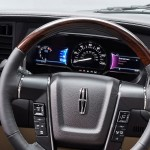 2015 Navigator Steering Wheel and Gauge Cluster