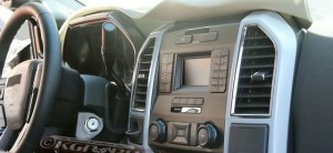 2016 Ford F-Series Super Duty Interior Spy Shot
