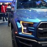 2017 Ford F-150 Raptor Front and Side