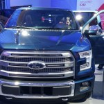 2015 Ford F-150 Brushed Aluminum Grill