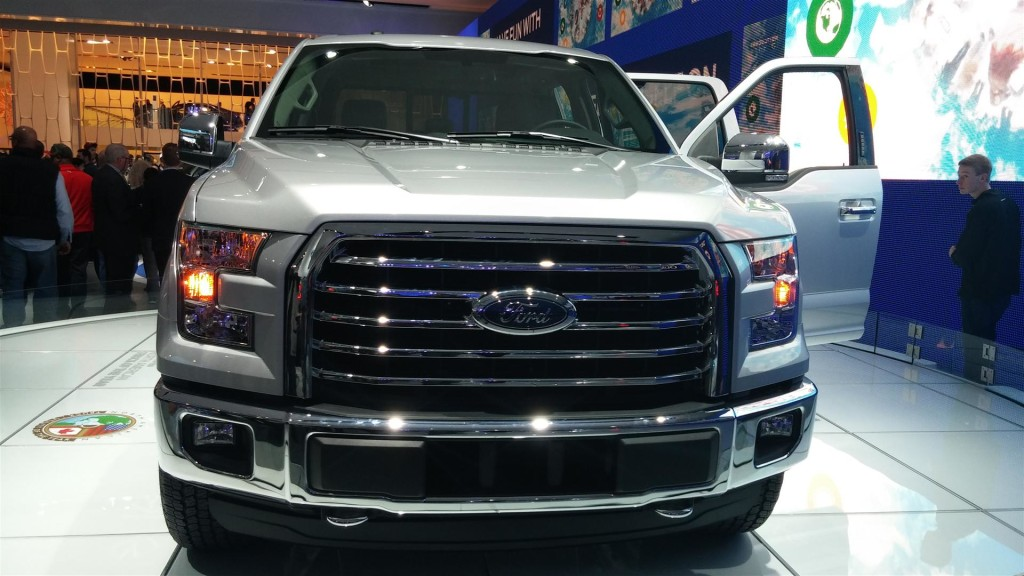 2014 F150 Grill >> 2015 Ford F-150 Front/Grill   Ford F-150 Blog
