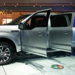 2015 Ford F-150 Side View Doors Open