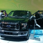 2015 Ford F-150 XLT Green Front