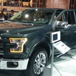 2015 Ford F-150 Green Doors Open