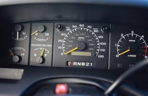 1993 Ford Svt F 150 Lightning Gauge Cluster Ford F 150 Blog