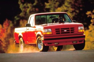 1993 Ford SVT F-150 Lightning driving