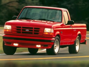 1994 Ford SVT F-150 Lightning at the Track
