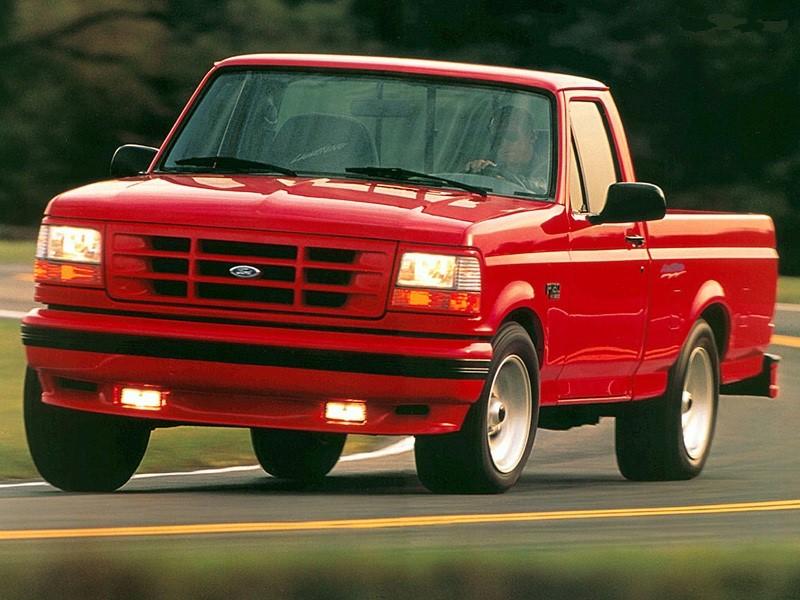 1994 ford svt f 150 lightning at the track ford f 150 blog. Black Bedroom Furniture Sets. Home Design Ideas