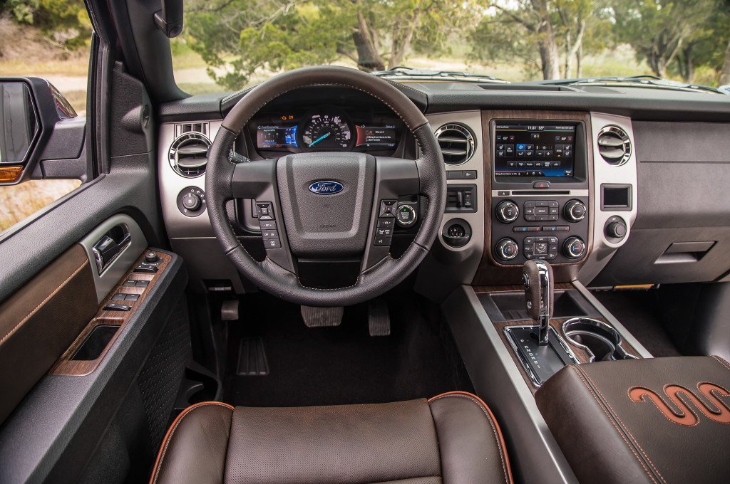 ford expedition king ranch edition interior ford