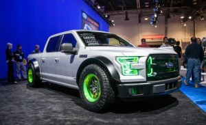 Video: 2015 Ford F-150 EcoBoost Drift Concept