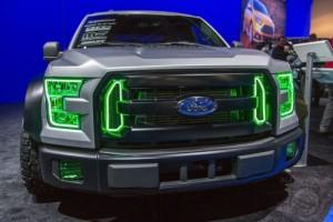 2015 Ford F-150 EcoBoost Powered Street Truck Drifted by Vaughn Gittin Jr Close Up