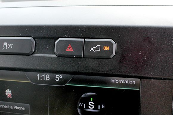 2015 Ford F-150 Plow Mode Button | Ford F-150 Blog
