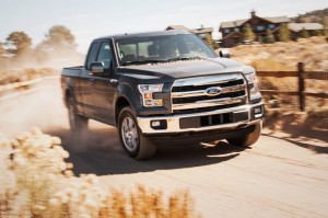 2015 Ford F-150 Supercab Dirt Road