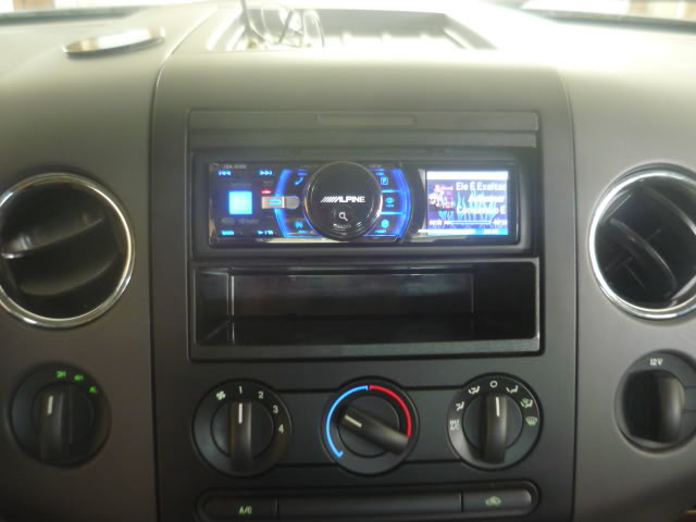 Single Din Stereo In A 2008 Ford F 150 Ford F 150 Blog