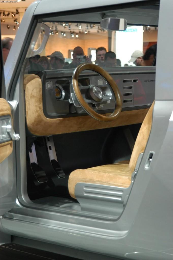 2005 Bronco Concept Interior