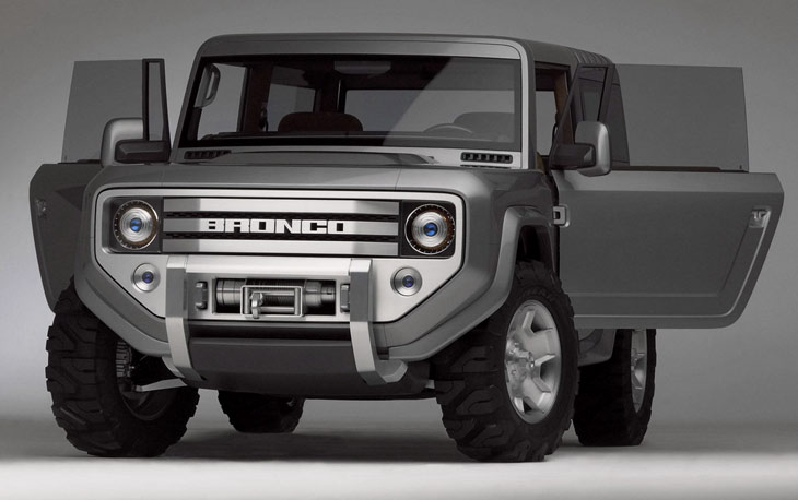 2005 Ford Bronco Concept