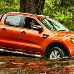 2014 Ford Ranger Wildtrak Offroad Fording Water