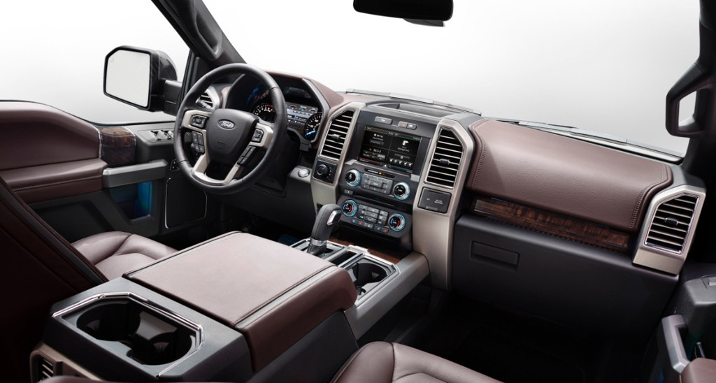 2015 Ford F 150 King Ranch Interior