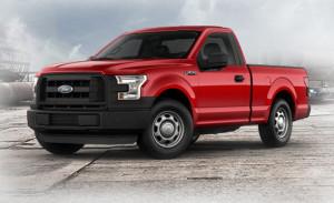 2015 Ford F-150 XL Work Truck Regular Cab Red