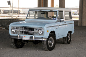 The First Generation Ford Bronco (1966-1977)