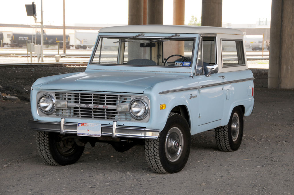 The First Generation Ford Bronco (1966-77)