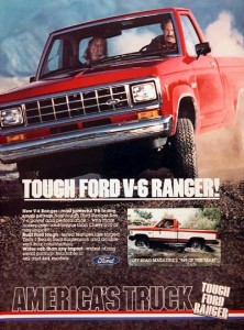 1983 Ford Ranger Advertisement