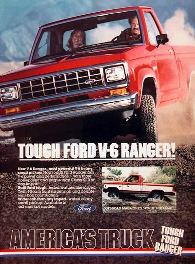 1983 Ford Ranger Advertisement Ford F 150 Blog