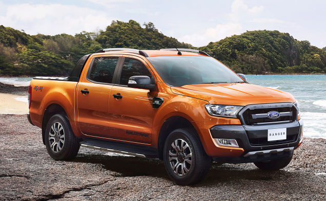 2015 ford ranger wildtrak beach