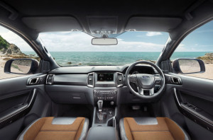 2015 Ford Ranger Wildtrak Interior